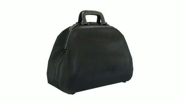 3D victorian doctor bag
