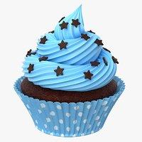 cupcake cake cup 3D