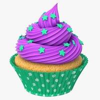 cupcake cake cup 3D model
