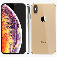 3D iphone xs x model