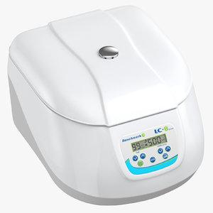 3D model centrifuge closed