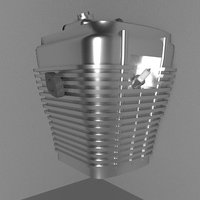 cyclinder engine head 3D model