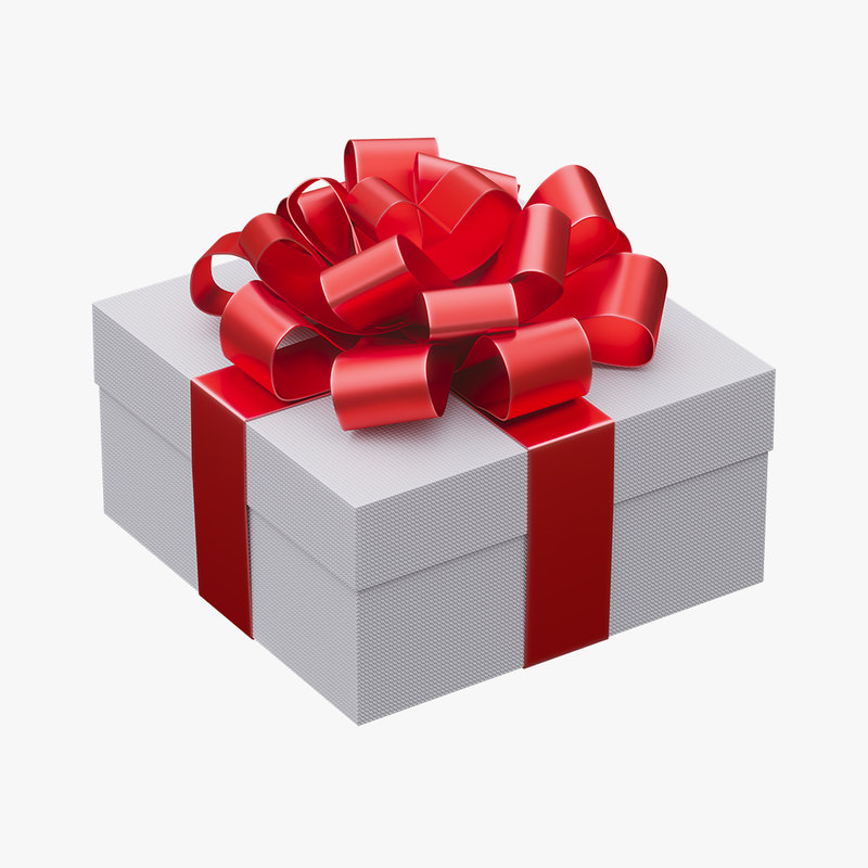 gift box christmas model