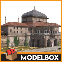 incili kosk palace 3D model