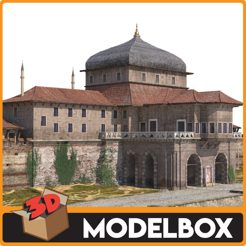 incili kosk palace 3D model