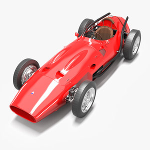 maserati 250 250f 3D model