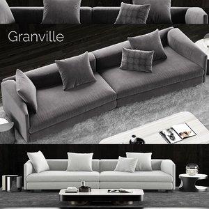 1 minotti granville sofa model
