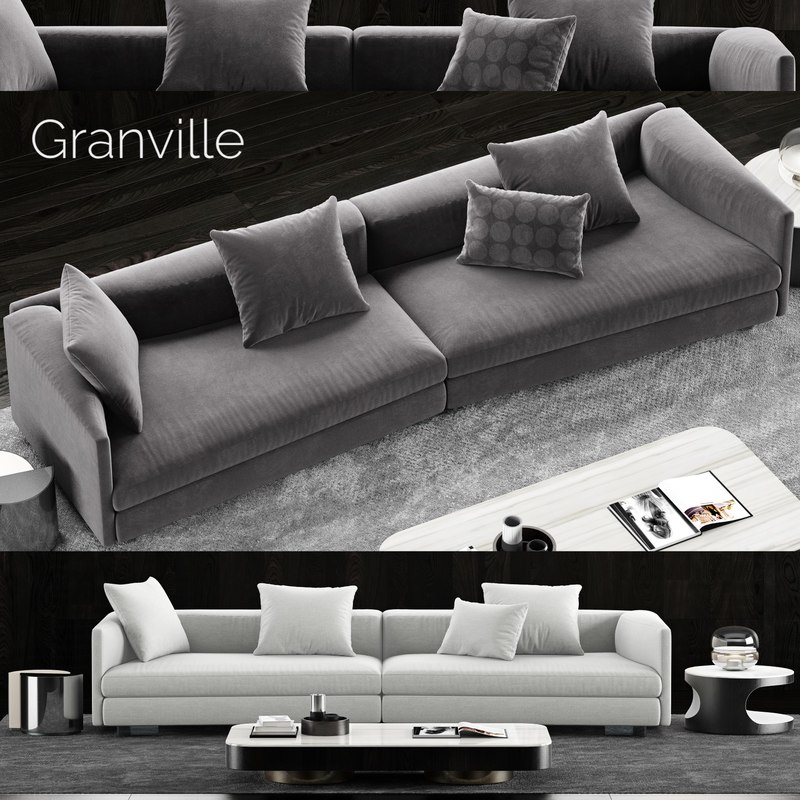 1 minotti granville sofa model