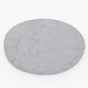 stone flagstone 3D