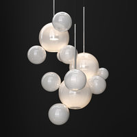 chandelier giopato coombes bolle 3D model