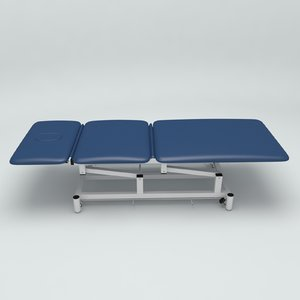 physical therapy table 3D model