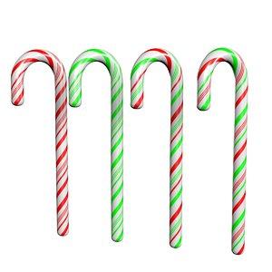 candy cane 3D