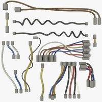 wires set 3D model