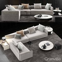 minotti granville sofa 5 model