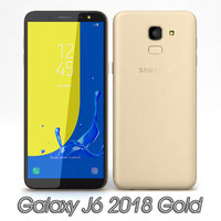 samsung galaxy j6 2018 3D model