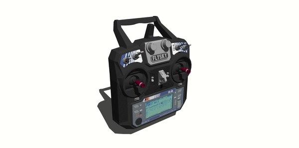 transmitter 6 i6 3D model