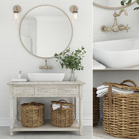 Furniture and decor for bathrooms 10