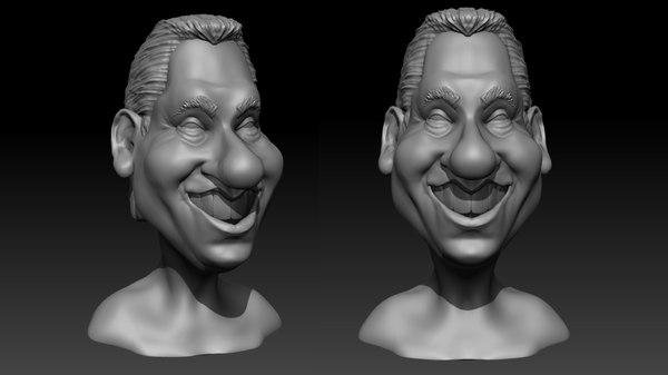 3D male cartoon
