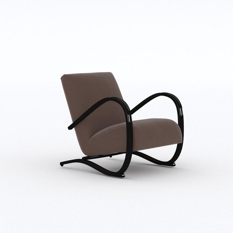 lounge armchair model