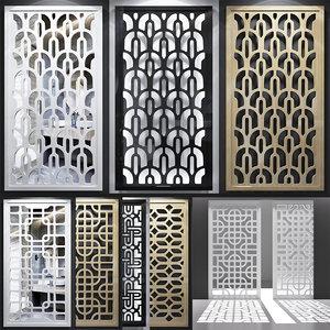screen decorative 3D