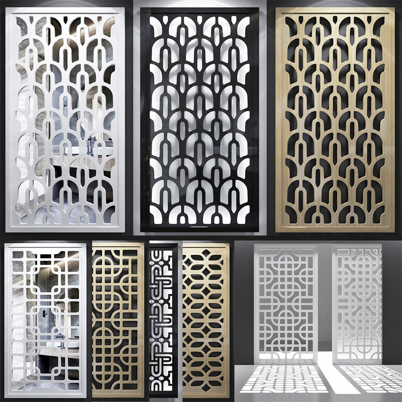 screen decorative 3D