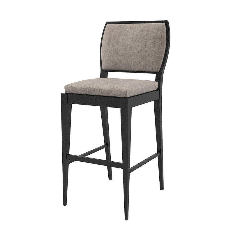 bar chair 3D model