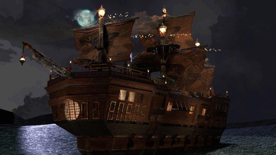 pirates ship model