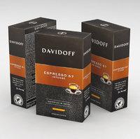 espresso coffe 3D model