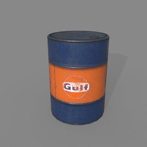 oil drum model