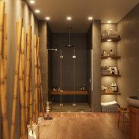 3D bathroom design model