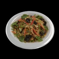 scan plate chinese noodles 3D model