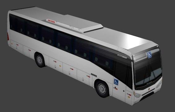 autobus ideale 770 3D model