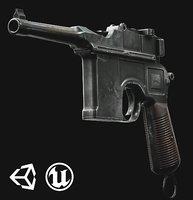 Mauser C96 - Model & Textures
