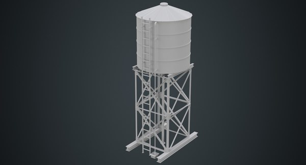 Water Tank 3D Models for Download | TurboSquid
