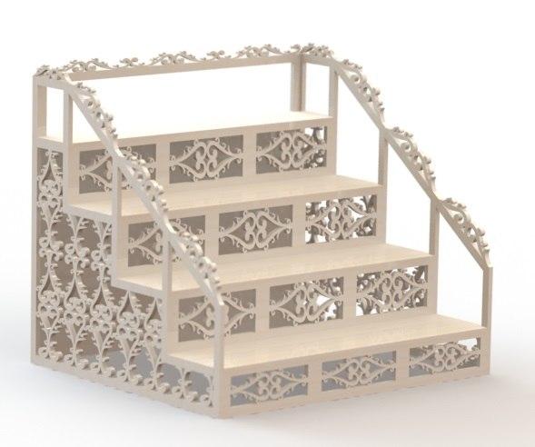 openwork shelf 3D model