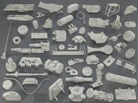 kit bashes - 55 3D