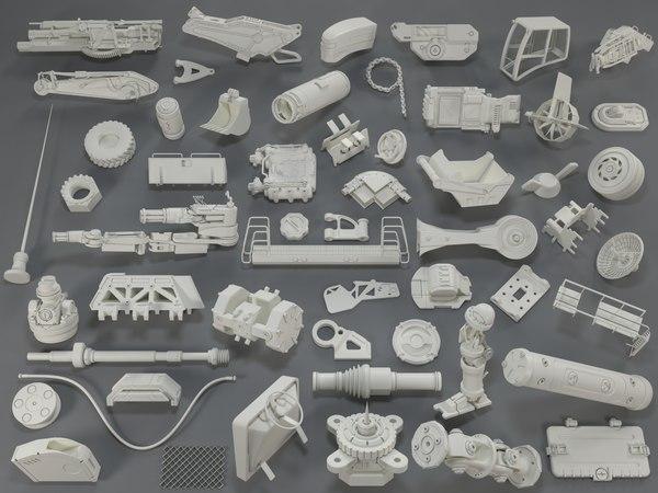 kit bashes - 55 3D