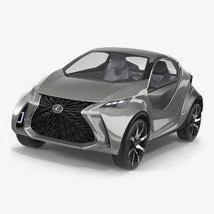 3D concept car lexus lf-sa