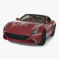 generic grand touring sports car 3D model