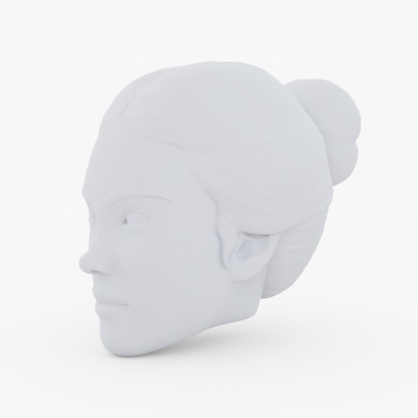 3D base heads female