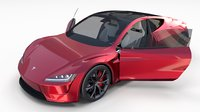 tesla roadster interior model