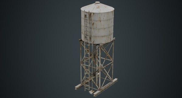 water tank 1b 3D