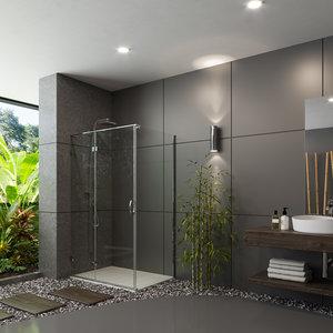 3D designed shower model