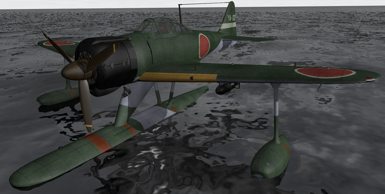 nakajima a6m2-n rufe model