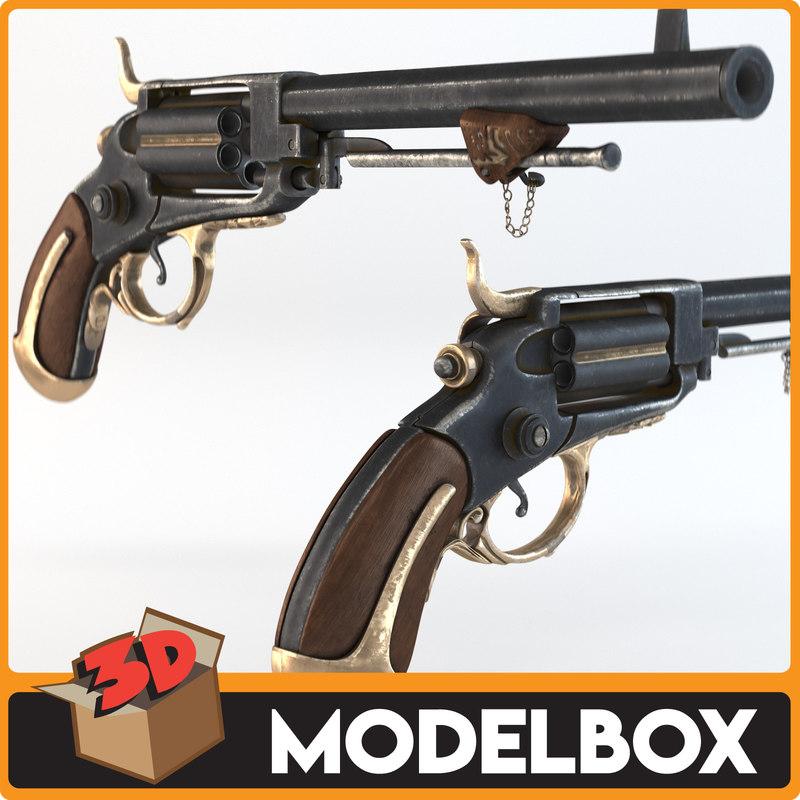 pistol ottoman filinta 3D model