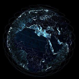 3D earth sci-hi