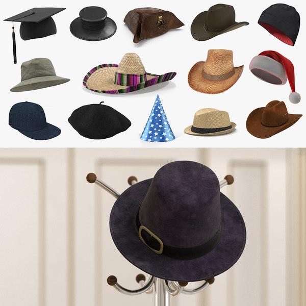 3D hats 2