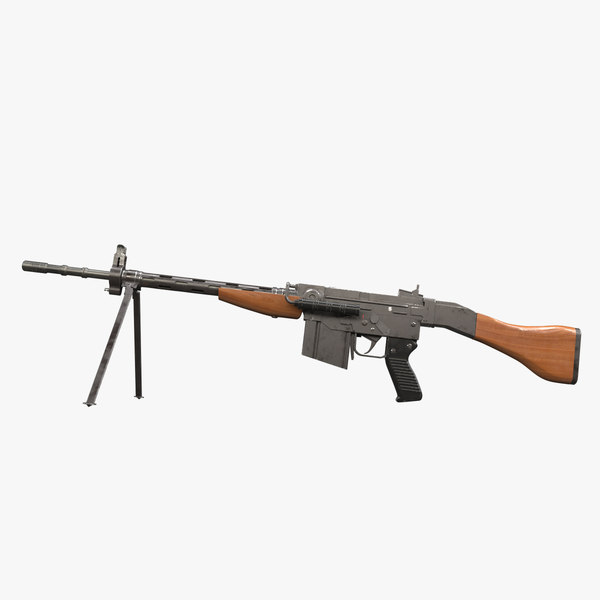 3D model rifle sig-amt