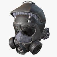 3D army helmet model