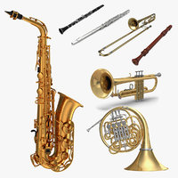 Wind Instruments Collection 3